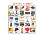 Letter H Bingo