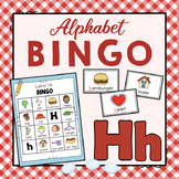 Letter H Bingo Game