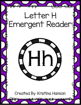 Letter H Book