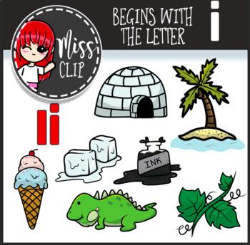 Letter i Clip Art Bundle {Miss Clip} Alphabet Commercial Use