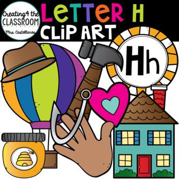 Letter H Clipart {Alphabet Clip art}