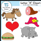 "Letter ""H"" Clipart Set {Tracy Sztanya Studios}"