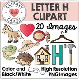 Letter H Alphabet Clipart by Clipart That Cares