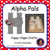 Letter H Craft: Hippy Hippo Alpha Pal