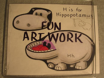 Letter H Fun Alphabet Project
