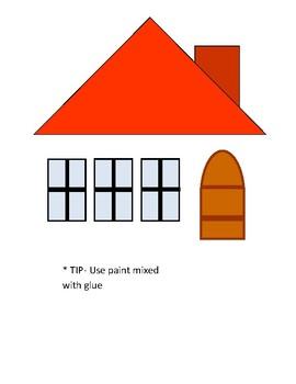Letter H (House) art work