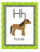 Letter H Recognition, Sound, Tracing and Craftivities