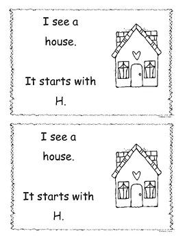 Letter H Little Reader/Book