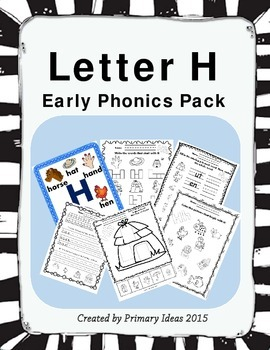 Letter H: Phonics Pack
