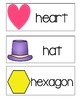 Letter H - Picture Word Cards