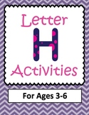 Letter H Activities- 46 Pages! {Common Core}