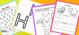 Letter H Printable Activities in Spanish for Children