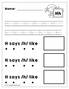 Letter H Review