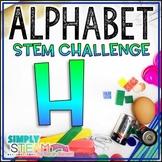 Letter H STEM Challenge | Letter H Activities