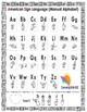 Letter 'H' Sign Language Concept Cards