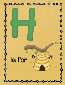 Letter H Story and Writing Practice