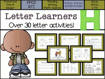 Letter Learners: Letter H