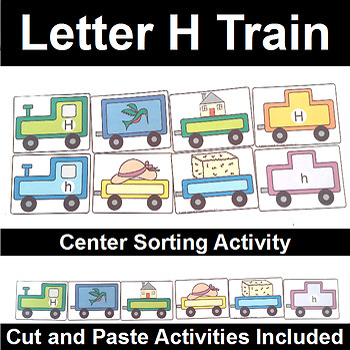Letter H Train