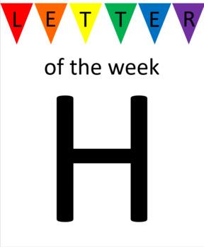 Letter H Unit