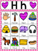 Letter H Vocabulary Cards