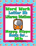 Letter H Word Work Literacy Station Pack