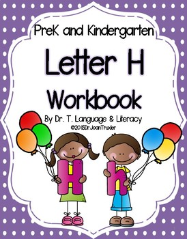 Letter of the Week: Letter H Workbook (PreK & Kindergarten)