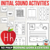 Letter H Worksheets, Letter H Activities, Initial H Words,
