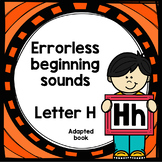 Letter H adapted book errorless learning
