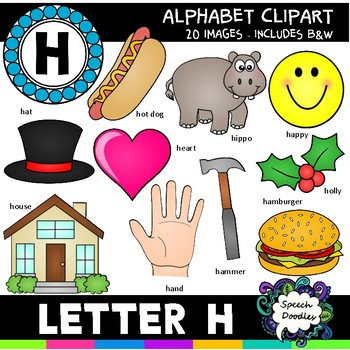 Letter H clipart - 20 images - For Personal or Commercial Use