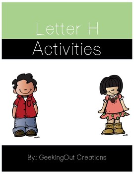 Letter H of the Alphabet Mega Bundle/Letter of the Week