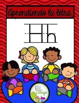Aprendiendo la letra H