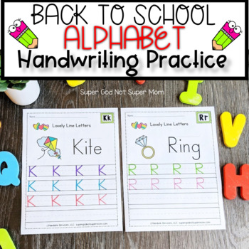 Letter Handwriting- Lovely Lines- Capital Letters