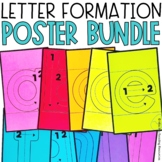 Letter Handwriting Posters