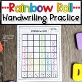Alphabet Handwriting Practice   Rainbow Roll Capital Letters