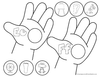Letter Helping Hand Game