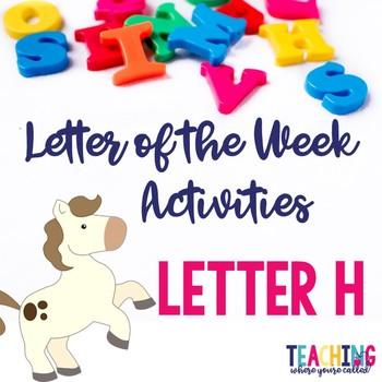 Letter Hh Activity Pack