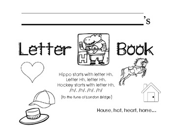 Letter Hh Activity Packet