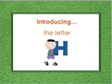 Letter Hh - Alphabet Lesson – Power Point – Interactive – Teaching the Letter H