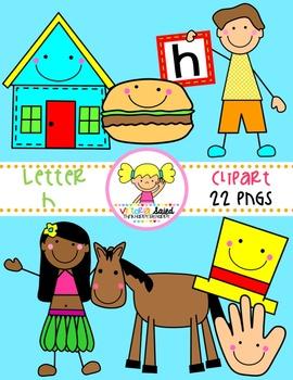 Letter Hh Clipart