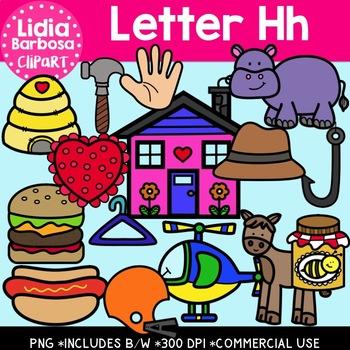 Letter Hh Digital Clipart