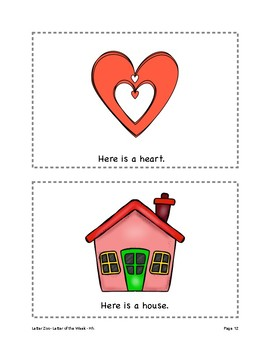 Letter Hh (H is for Homes and Habitats): Letter Zoo- Preschool Curriculum