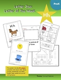 Letter Hh (H is for Homes and Habitats): Letter Zoo- Presc