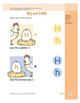 Letter Hh (Hen)