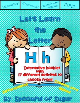 Letter Hh- Interactive Activities Booklet