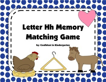 Letter Hh Memory Game