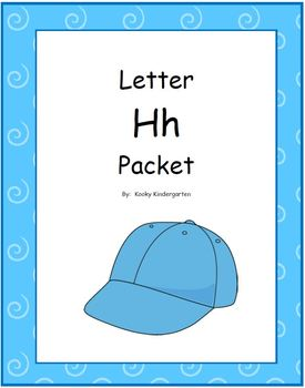 Letter Hh Phonics and Writing Pack