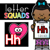 Letter Hh Squad: DAILY Letter of the Week Digital Alphabet