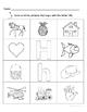Letter Hh Words Coloring Worksheet