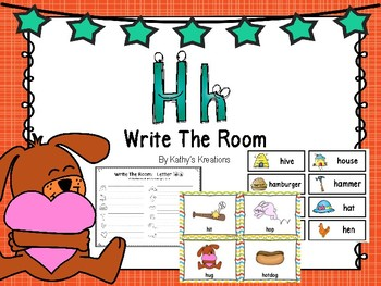 Letter Hh Write The Room