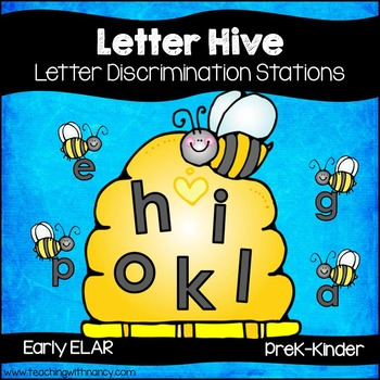 Letter Hive Letter Discrimination Activities